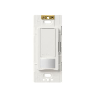 Lutron Maestro 2 amp Single-Pole Motion Sensing Switch - 250W - White