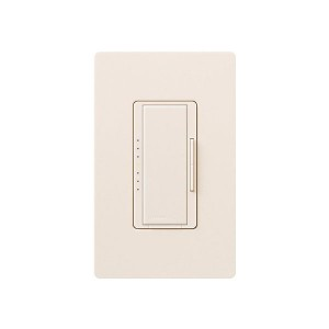 Maestro - Magnetic Low-Voltage Dimmer - Digital Fade - Eggshell - 120V - 600VA (450W) - Wall Plate Sold Separately
