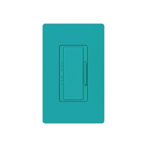 Maestro - Incandescent / Halogen Dimmer - Digital Fade - Turquoise - 120V - 600W - Wall Plate Sold Separately