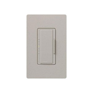 Maestro - Electronic Low-Voltage Dimmer - Digital Fade - Stone - 120V - 600W - Wall Plate Sold Separately