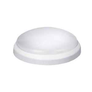 LED Surface Mount Disk Light - White - 10W - 3000K Warm White - 4 inch - Dimmable - 120V AC
