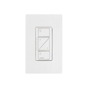 Caseta Wireless Smart Lighting Dimmer Switch - For Wall & Ceiling Lights - White