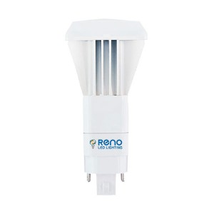 LED PL Bulb - 4-pin G24Q base - 11W - 3500K Warm White - Vertical - 120-277V AC