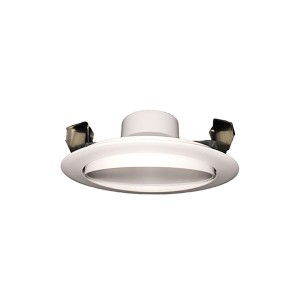 LED Round Recesses Adjustable Gimbal Ultrathin Slim Panel - White - 12W - 4 inch - 4000K Natural White - 120V AC