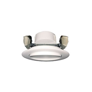 LED Round Recesses Adjustable Gimbal Ultrathin Slim Panel - Brushed Nickel - 12W - 4 inch - 3000K Warm White - 120V AC