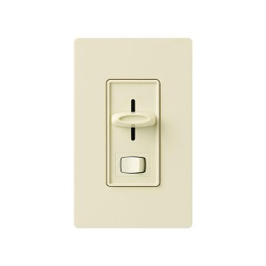 Skylark - Incandescent/ Halogen Dimmer - Econ-Dim® - W/ On/Off Switch - 120V - 600W - Almond - Wall plates not Included