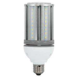 LED Corn Bulb - 22W - 5000K Cool White - 277-347V AC