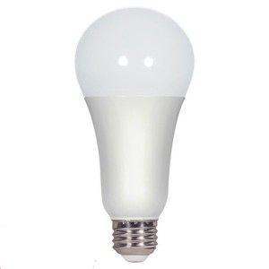 LED A19 - 16W - Non-Dimmable - 2700K Soft White - 120V AC - 15,000 hrs lifespan - 4 Packs