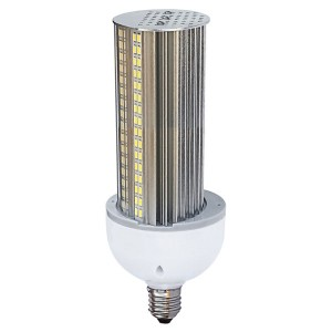 LED Corn Bulb - Wall Pack Series - 30W - 3000K Warm White - 100-277V AC