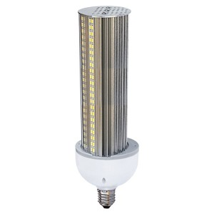 LED Corn Bulb - Wall Pack Series - 40W - 5000K Cool White - 100-277V AC