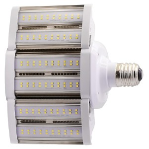 LED Corn Bulb - Shoe Box Series - 80W - 3000K Warm White - 100-277V AC