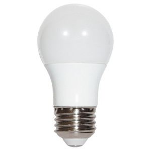LED A19 - 5.5W - Dimmable - 3000K Warm White - 120V AC - 25,000 hrs lifespan