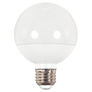 LED G25 Globe Bulb - 6W - Dimmable - 2700K Soft White - 120V DC