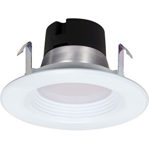 LED Recessed Downlight - 9.5W - Dimmable - 3000K WarmWhite - 4 inch - 120V AC