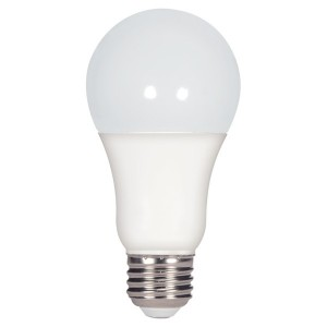 LED A19 - 11.5W - Dimmable - 5000K Cool White - 120V AC - 25,000 hrs lifespan