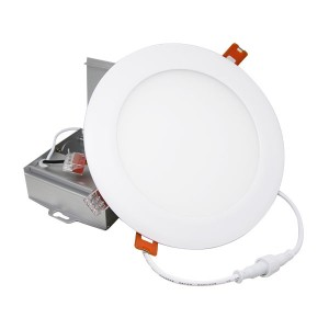 LED Slim Panel - White - 12W - 6 inch - 3000K Warm White - 120V AC