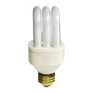 CFL Bulb - 25W - E26 Base - 2700K Soft White - 6 packs