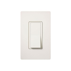 General Purpose Switches - Paddle Switch - Biscuit - 120V-277V - 15A - Stain Finish - Wall Plate Sold Separately