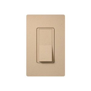 General Purpose Switches - Paddle Switch - Desert Stone - 120V-277V - 15A - Stain Finish - Wall Plate Sold Separately