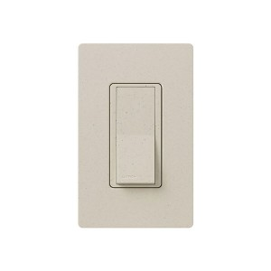 General Purpose Switches - Paddle Switch - Limestone - 120V-277V - 15A - Stain Finish - Wall Plate Sold Separately