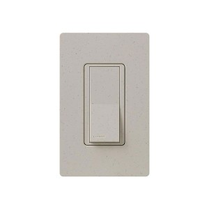 General Purpose Switches - Paddle Switch - Stone - 120V-277V - 15A - Stain Finish - Wall Plate Sold Separately