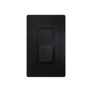 General Purpose Switches - Paddle Switch - Midnight - 120V-277V - 15A - Stain Finish - Wall Plate Sold Separately