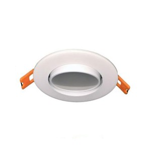LED Recesses Adjustable Gimbal Ultrathin Slim Panel - White - 6W - 3 inch - 3000K Warm White - 120V AC