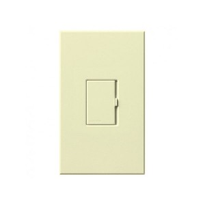 Vareo - Incandescent/Halogen And/or Magnetic Low-Voltage - Preset Dimmer - 120V - 600W/VA Max. - Almond