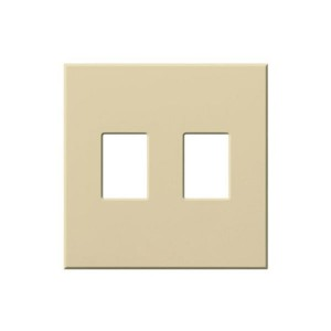 Vareo - Wallplates - For Vareo® and Nova Tb® Dimmers - and Architectural accessories  - 2-Gang - Ivory