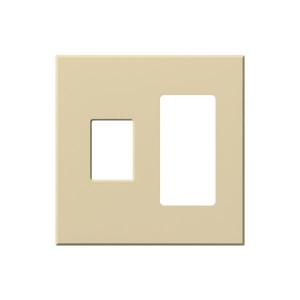Vareo - Wallplates - For Vareo® and Nova Tb® Dimmers - and Architectural accessories - 2-Gang -Ivory