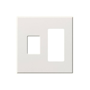 Vareo - Wallplates - For Vareo® and Nova Tb® Dimmers - and Architectural accessories  - 2-Gang - White