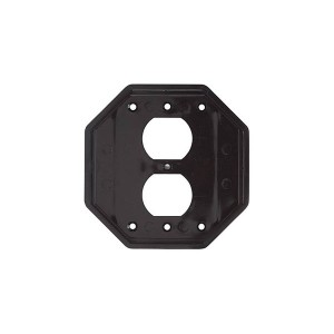 Weatherproof Outlet Covers - Inserts & Accessories - Double-Gang Duplex - For All 2 Gang Covers Including Die Cast and Jumbo
