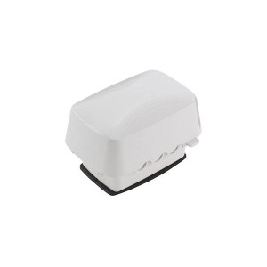 Outlet Cover - Weatherproof - Plastic & Extra-Duty Plastic Cover - Single Gang - 120V - White - 3.625''Depth